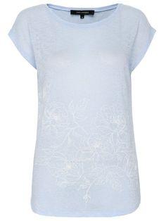 Top Secret T-Shirt mit Print blau