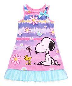 Look at this #zulilyfind! Pink Snoopy Nightgown - Toddler & Girls by Peanuts by Charles Schulz #zulilyfinds