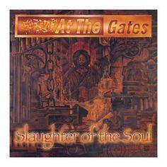 """L'album degli #AtTheGates intitolato """"Slaughter Of The Soul"""" in edizione rimasterizzata su vinile."""