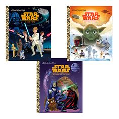 Thenew  Star Wars Little Golden Book Set, now for sale! Yay!