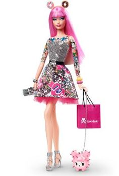I managed to snag one before they sold out! Tokidoki® Barbie® Doll | The Barbie Collection
