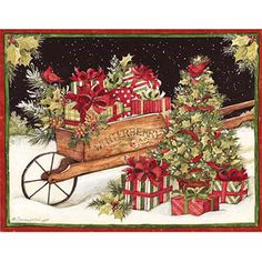 Lang Christmas Delivery Boxed Christmas Cards