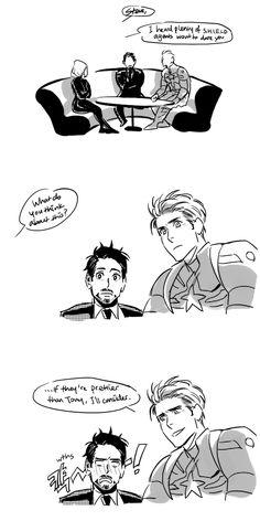 「Avengers」Steve x Tony comics 2 [3]