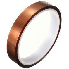 15mm+x+30m+Gold+Kapton+Tape+High+Temperature+Heat+Resistant+Polyimide+260-300℃+db