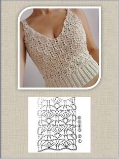 Crochet Shirt, Crochet Bikini, Crochet Top, Crochet Summer Tops, Embroidery Art, Crochet Clothes, Free Pattern, Crochet Patterns, Stitch