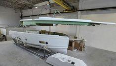 Seafaring 44 Coupé - Jachten - Seafaring Yachts Seafarer, Boat Design, Luxury Yachts, Boats, Tech, Cutaway, Travel, Ships, Technology