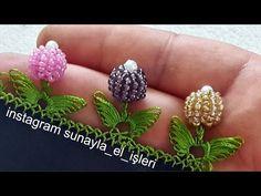Crochet Flower Tutorial, Crochet Lace Edging, Crochet Borders, Crochet Art, Crochet Flowers, Fabric Flowers, Crochet Patterns, Bead Jewellery, Beaded Jewelry