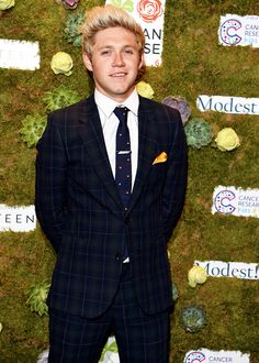 Niall @ a charity event last night.