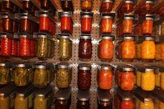 Mom's Mason Jar Jack - hang your mason jars on the wall