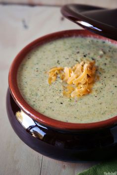 Almost-Famous Broccoli Cheddar Soup