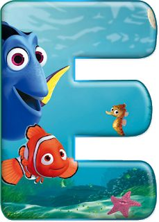 Reinforced by God: Decorative alphabet Nemo PNG