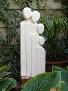Ans van Bakel Plaster Sculpture, Sculptures Céramiques, Pottery Sculpture, Stone Sculpture, Sculpture Clay, Abstract Sculpture, Ceramic Figures, Ceramic Art, Styrofoam Art