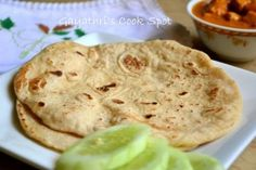 Wheat Naan: 2 cups Wheat Flour, ½ tsp Instant Yeast, 2 tables Curd, ¼ tsp Baking soda, 1 tbls Olive Oil, Salt to taste, tsp Sugar