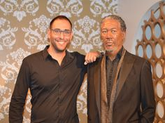 Remember: The best way to guarantee a loss is to quit - Morgan Freeman (picture taken at Madame Tussauds - London). Have a wonderful weekend!!