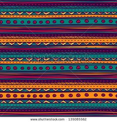 Tribal vector seamless pattern. Hand drawn abstract background. by Alextanya, via ShutterStock. Stock VECTOR available for sale at shutterstock.  (c)AlexTanya.