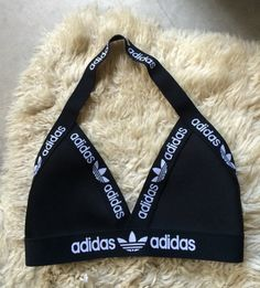 My latest handmade reworked Adidas bralette triangle bra.  Would also look great…