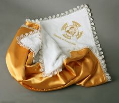 FREE SHIPPING  Personalized Embroidered Blanket by llemio on Etsy, $60.00