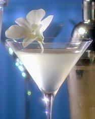 White Cosmopolitan Recipe -     1 cup white cranberry juice  4 ounces vodka  2 ounces Cointreau    2 Servings