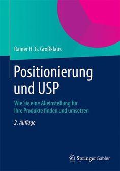 Positionierung und USP als Buch
