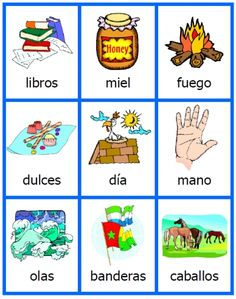 free spanish noun cards printables for acticles flashcards activity set