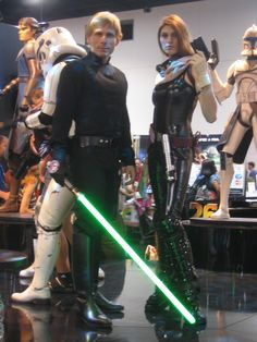 Star Wars.  View more cosplay at http://www.pinterest.com/SuburbanFandom/cosplay-diary/ these two have it right