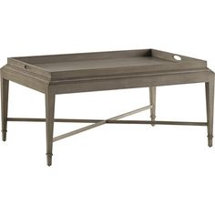Baker Furniture : Tray Coffee Table - 3451 : Barbara Barry : Browse Products