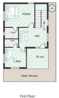 8833Ground_Floor_Plan_20x40NEWS.jpg   yousef   Pinterest   Duplex ...