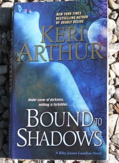 Bound to Shadows Riley Jensen Guardian Book 8 by Keri Arthur Paranormal Romance