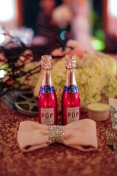 Cheers! on itsabrideslife.com #weddingfavors #champagneweddingfavors #wedding