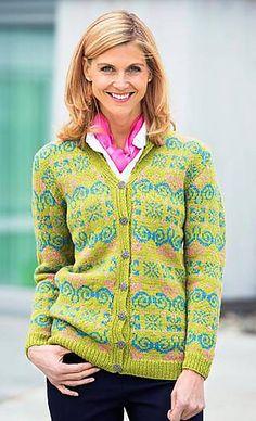 Ravelry: Designs by Kristin Holte Fair Isle Pattern, Fair Isle Knitting, Hobbies And Crafts, Mantel, Ravelry, Free Pattern, Chevron, Feminine, Beige