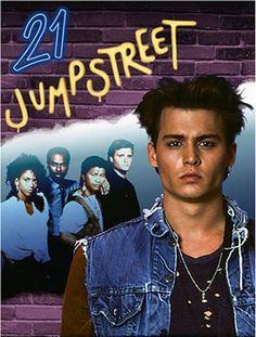 21 Jump Street with Johnny Depp