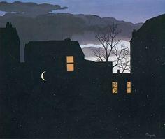 René Magritte (1898-1967), La Bonne Aventure (Good Fortune), 1939, Gouache on paper, 33.5 x 40.7 cm., Museum Boymans-Van Beuningen, Rotterdam
