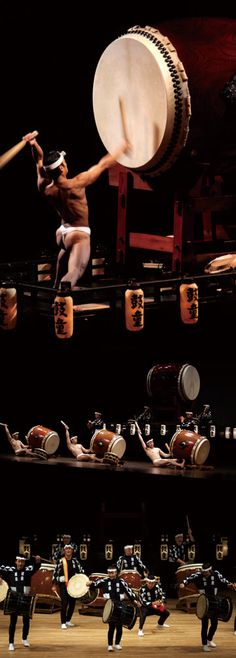 """KODO - Japanese Taiko Drummers http://kodo.com - """"I was lucky enough to see KODO at Symphony Hall in Boston."""" - BTM"""