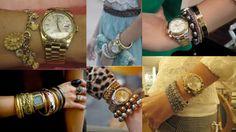 Meu Visual Joias e Semi-joias Consignadas: Como combinar jóias com relógios