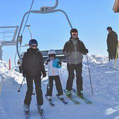Having fun and making great memories \u2744 Another beautiful day #skieaglepoint #skiutah #winter #utah #skiing #snowboa...