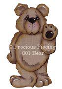 Bear from Precious Piecings
