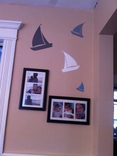 Sailboats in the kitchen. Uppercase living