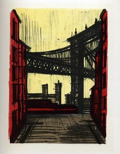 Bernard Buffet : New York II, 1967