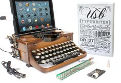 What's not to love?  USB Typewriter Conversion Kit Easy Install by usbtypewriter