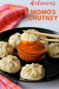 Momos chutney recipe or momos red chutney, a quick and one of the best spicy red chilli dipping sauce #momoschutney #momoschutneyrecipe #dippingsauce #chutneyrecipes