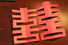 "Ahh, last Chinese New Year event that my community service club is hosting tomorrow. And here is the craft that we're doing -- we're going to cut ""shuang xi,"" or ""double happiness."" Chinese paper-c. Chinese New Year Crafts For Kids, Chinese New Year Activities, Chinese New Year Decorations, Chinese Crafts, Chinese New Year 2020, Chinese Art, Chinese Food, Chinese Writing, New Year's Crafts"