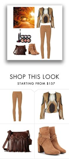 """""""A pathway to light"""" by miracle-child-1 ❤ liked on Polyvore featuring AG Adriano Goldschmied, Gucci, STS Ranchwear, Yves Saint Laurent and Laura Geller"""
