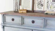 Weathered Oak Dining Table Makeover - Bless'er House Dining Table Makeover, Oak Dining Table, Refinished Bedroom Furniture, Painted Furniture, Furniture Redo, Furniture Market, Distressed Furniture, Furniture Projects, Diy Wall Decor For Bedroom