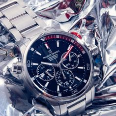 Maurice Lacroix Pontos S Chronograph Automatic Watch #automatic, #BestWatches, #stylish