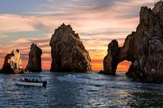 CABO SAN LUCAS, MEXICO  There's never a bad time to visit, and you can't beat the currency conversion. El Arco, a natural arch rock formation that sits where the Sea of Cortez meets the Pacific Ocean, is not to be missed.    -Missing35mm/Getty Images