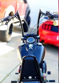 Harley Davidson News – Harley Davidson Bike Pics Ape Hanger Handlebars, Ape Hangers, Harley Davidson Chopper, Harley Davidson Street Glide, Motorcycle Garage, Motorcycle Outfit, Custom Street Bikes, Yamaha Motorcycles, Biker T Shirts