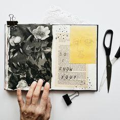 Art journal pages, art pages, art journals, journal ideas, sketchbo Art Journal Pages, Journal D'art, Scrapbook Journal, Art Journals, Journal Ideas, Sketch Lion, Anime Flower, Messy Art, Doodle Cartoon