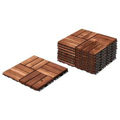 Make your outdoor space feel like home with IKEA's quality, affordable decking and flooring solutions for balconies, gardens, patios, back yards and more. Laying Decking, Outdoor Flooring, Outdoor Tiles, Deck Flooring, Ikea Outdoor, Patio Tiles, Deck Railings, Diy Deck, Deck Plans