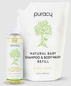 Puracy Natural Baby Shampoo & Body Wash Best Skin Care Brands, Best Acne Products, Body Products, Gentle Baby, Baby Skin Care, Baby Shampoo, Baby Body, Beauty Junkie, Tinted Moisturizer
