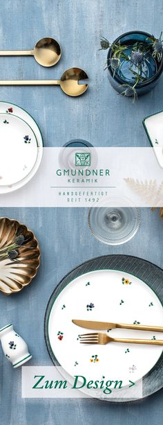 """Hier geht es zum gesamten Sortiment von """"Streublumen"""" - handgefertigtes Geschirr seit 1492 Keramik Design, Austria, Plates, Tableware, Beer Stein, Dishes, Flowers, Licence Plates, Plate"""